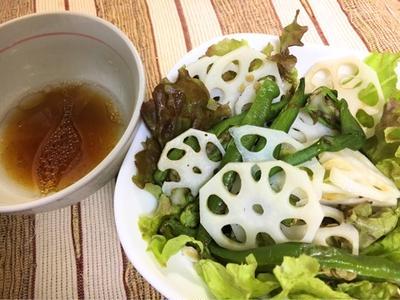 れんこんサラダ☆話題のキッチングッズ&調味料5種セット
