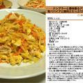 ナンプラーと香味香るアジアン風青パパイアと豚肉とたっぷり野菜の炒り卵 炒め物料理 -Recipe No.1186-