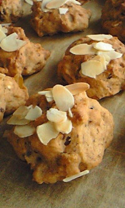 オヤツ:ノンオイル♪豆腐のドロップクッキー