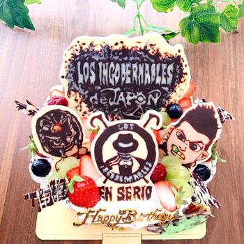 ロスインゴブレナブロスのバースデーケーキ