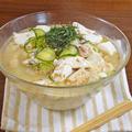 鮭缶で作った 簡単 冷や汁うどん by KOICHIさん