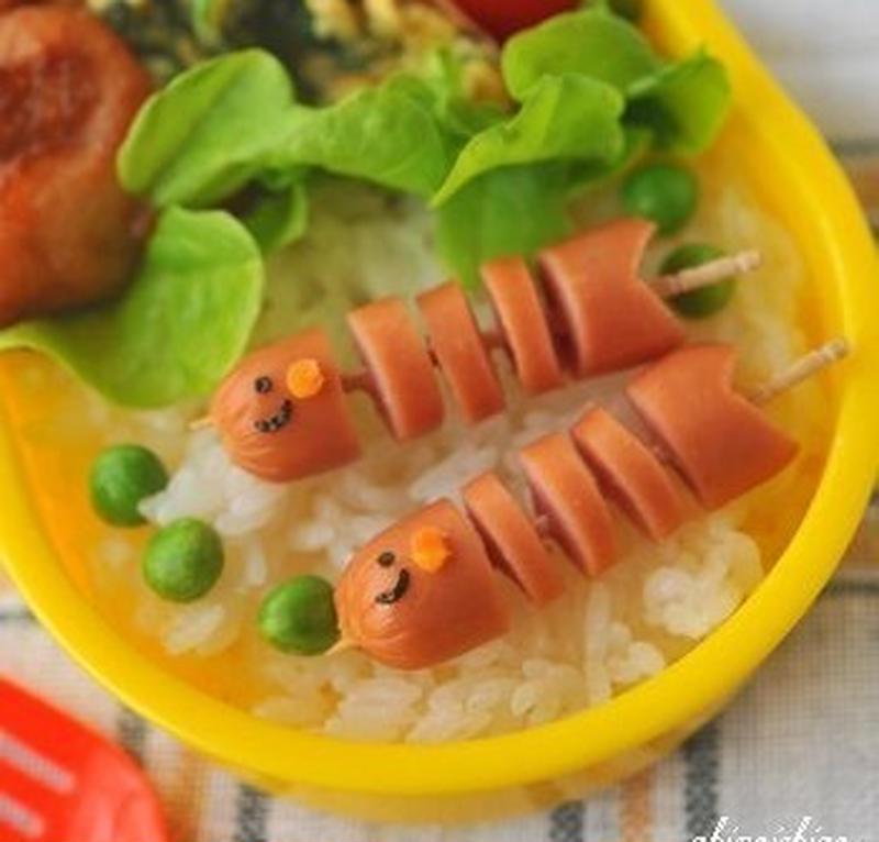 お弁当が「ウインナー」1つでこんなに可愛くなる!簡単アレンジレシピ集 | くらしのアンテナ