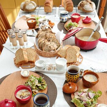 11月の単発レッスンは「茶葉の香りを楽しむパン2種類」♡