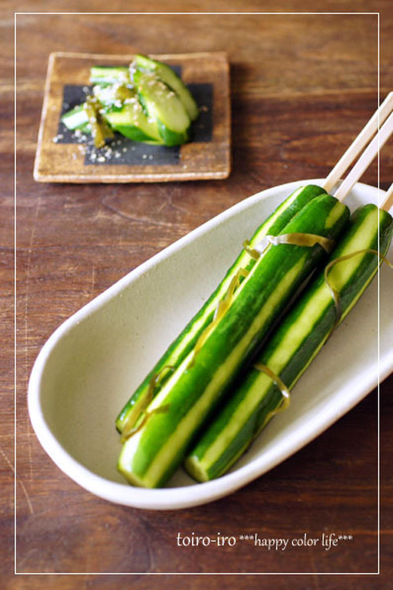 暑い時ほど食べたくなる!涼を感じる「きゅうり」の漬物5選