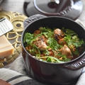 【STAUB】バター香るふっくらカキとトマトの炊き込みご飯。 by OTOKOMAE KITCHEN MARI'sさん