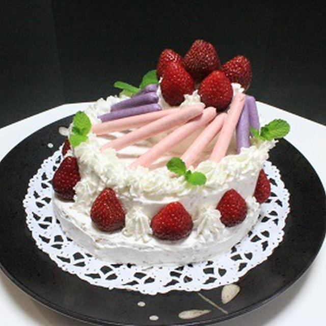 旦那の誕生日ケーキ 43歳