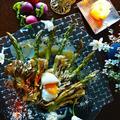 新鮮アスパラと舞茸の燻製  ~フライパン燻製からの脱出~ by 青山 金魚さん