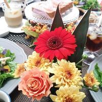 好評だったスープレシピ♪~花と料理を楽しむ ハッピーハロウィン~