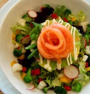 お野菜たっぷりサラダちらし寿司