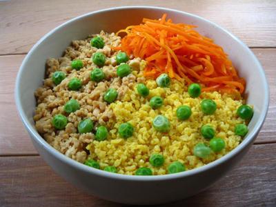 豆腐そぼろ丼