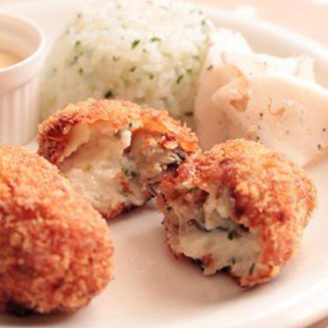 牡蠣のクリームコロッケ