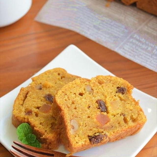 ホットケーキミックスで♪ドライフルーツとクルミの キャロットケーキ ☆