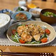【ねぎ醤油チキン】#むね肉#簡単#節約#ご飯のおかず …一日中勉強。