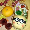 マヨ卵黄でミニオンおにぎり弁当 by とまとママさん
