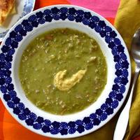 冷凍グリーンピースで簡単★北欧フィンランドの豆スープ「ヘルネケイット」