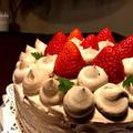 今年もヘルシオでスポンジケーキ焼きました。