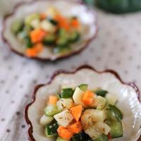 【スパイス大使】キャラウェイ香る〜コロコロ野菜のさっぱりサラダ〜
