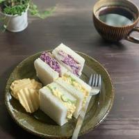 紫キャベつなサンドウイッチ
