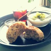 スコーン バナナとオリーブオイルで朝ごはんにぴったりです。