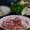 肝臓に良い最強レシピ☆鶏のすきやき
