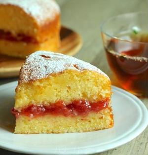 ずっと作り続けているヴィクトリアサンドイッチケーキのレシピ