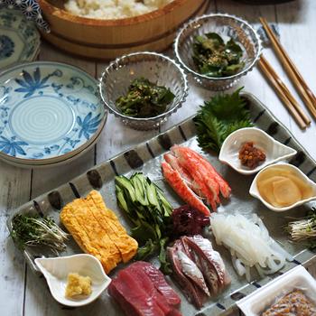 """「母の日」に簡単に作った """"手巻き寿司""""久しぶりに作りました_母の日なのに自分で作る..."""