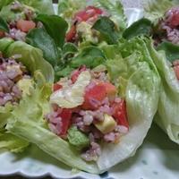 雑穀ライスサラダ(レシピ)