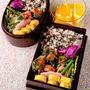 【今日のおべんと】鮭のみりん漬けの一口焼き弁当