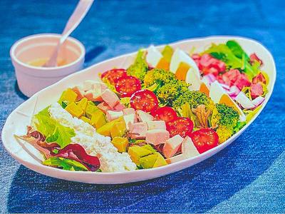 50℃〜 低温調理いろいろ 満腹コブサラダ