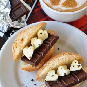 バレンタインの朝食に食べたい!「チョコサンド」のアイデア5選