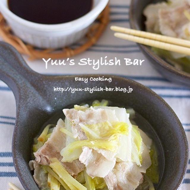 調味料は2つ!ビックリするほど甘くなる♡『豚バラと白菜のシンプルうま煮』