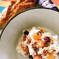 キレイを作る食卓〜シナモン香るリコッタチーズのディップ(ハウスのスパイスでお料理上手♪)〜
