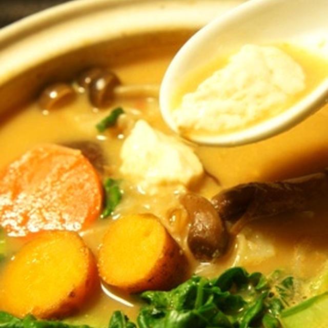 正月太り解消、野菜たっぷり純豆腐風とろける豆腐の韓国鍋