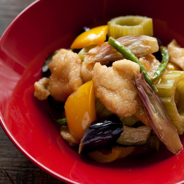鶏胸肉と野菜のイタリアン煮浸し