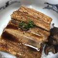 穴子丼・桜海老掻揚・無花果胡麻タレ・菊花酢の物