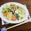 超簡単!ちゃんちゃん焼き風 鮭じゃがとキノコの味噌バター炒め by KOICHIさん