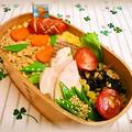 高野豆腐でそぼろ弁当