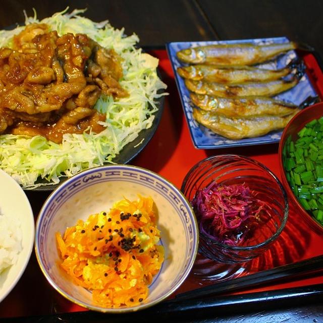 豚肉のスタミナ焼き