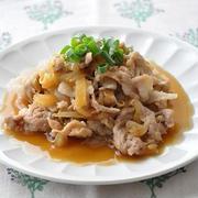 【ストックおかず】豚肉と玉ねぎで♪豚肉と玉ねぎの甘辛煮