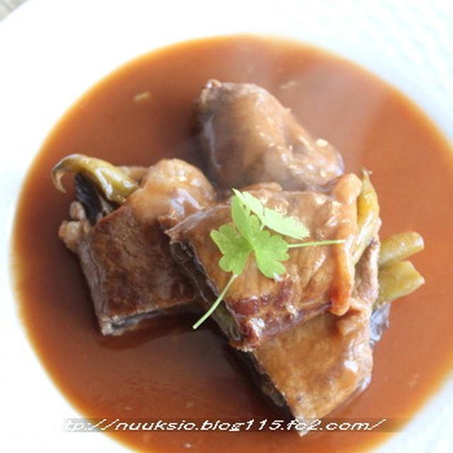 茄子のドミグラ煮と甘辛煮☆
