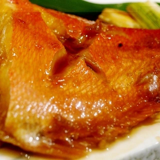 ■続・おもてなし居酒屋メニュー【美味しい金目鯛の煮付け方】です♪