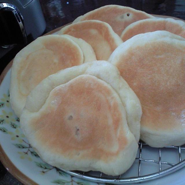 マルチグルメプレートで パン♪