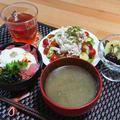 ひと手間で美味しさUP!豚しゃぶサラダ by masaさん