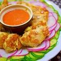 鶏胸肉のピカタ焼きトマトソース添え【ブラウン マルチクイック・ブレンダー】 by とまとママさん