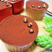 バニラ香る ふんわり濃厚チョコレートムース/材料少なく超簡単♪