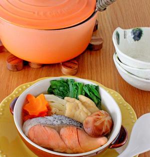 カラダも温まる!鮭ちゃんこ鍋