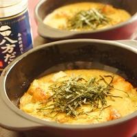 鮭とアボカドのとろろグラタン【レシピ】