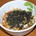 キムチのゴーヤチャンプルー&鯛と牛蒡の煮付け&白菜の甘酢あんかけ