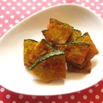 フライドかぼちゃ スパイス風味