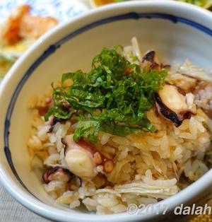 【レシピ】美味いタコ飯(たこ飯)のつくり方 夏にぴったり、梅の酸味が絶妙にマッチ!